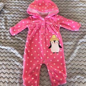 Carter's Newborn Fleece Onesie